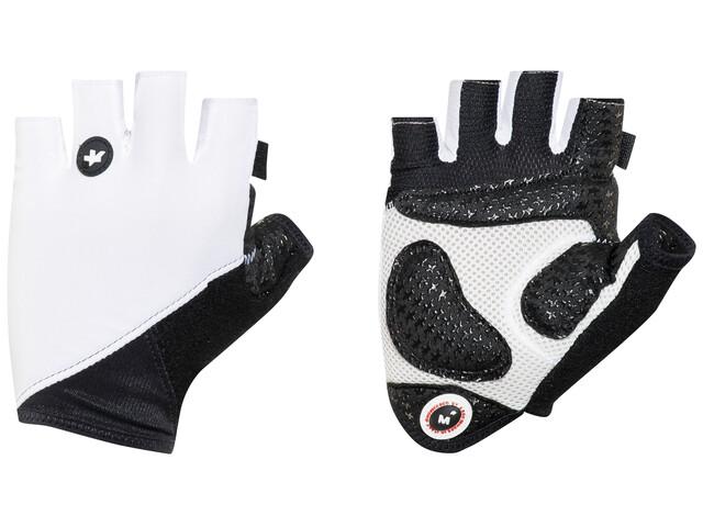 assos summerGloves_S7 fietshandschoenen wit/zwart